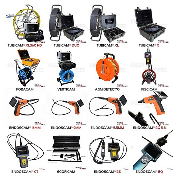 Camera endoscope industrielle