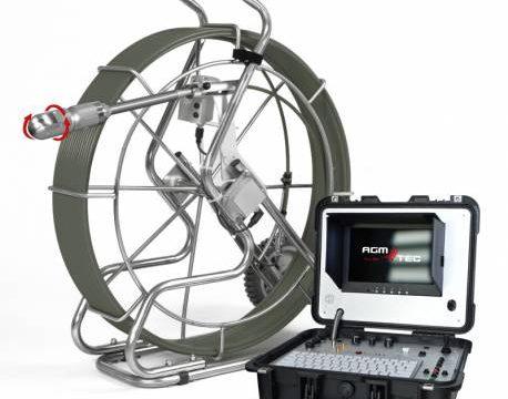 caméra d'inspection motorisée