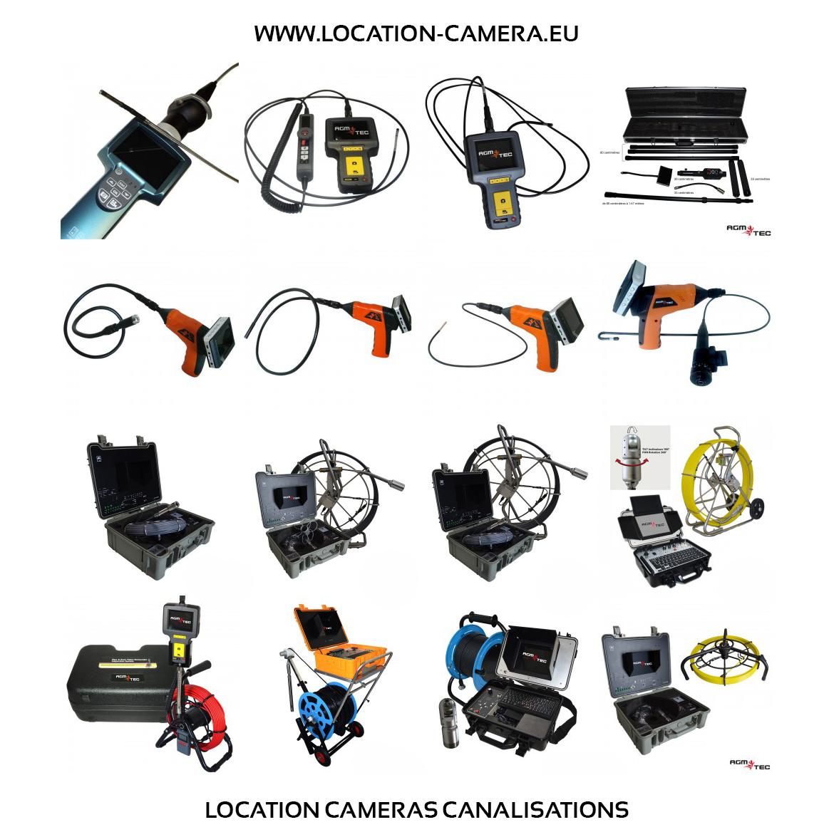 Camera inspection de canalisation et tuyaux