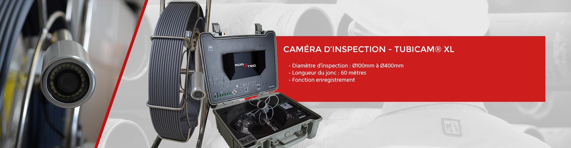 Caméra canalisation tubicam XL