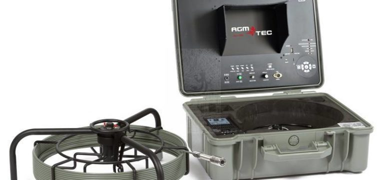 caméra d'inspection équipée d'une sonde de localisation