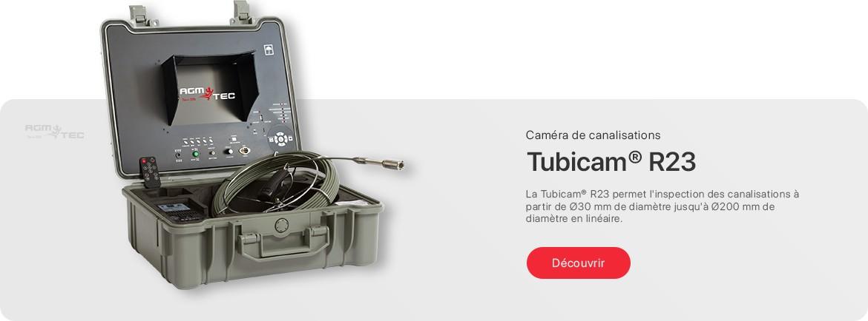 Caméra d'inspection de canalisations - Tubicam® R23